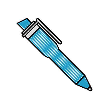 pen supply isolated icon vector illustration design