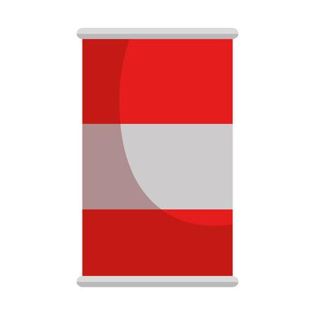 Soda can isolated icon vector illustration design Çizim