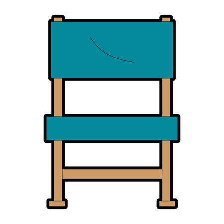 garden chair picnic icon vector illustration design Stock Vector - 96425872