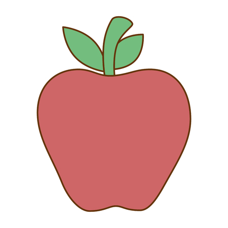 Apple fresh isolated icon vector illustration design 向量圖像
