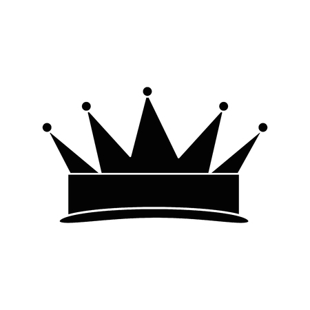 king crown isolated icon vector illustration design Stock Vector - 96428863