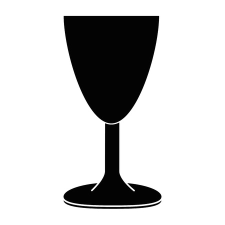cup chalice isolated icon vector illustration design