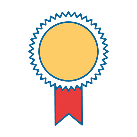 Seal diploma isolated icon vector illustration design.