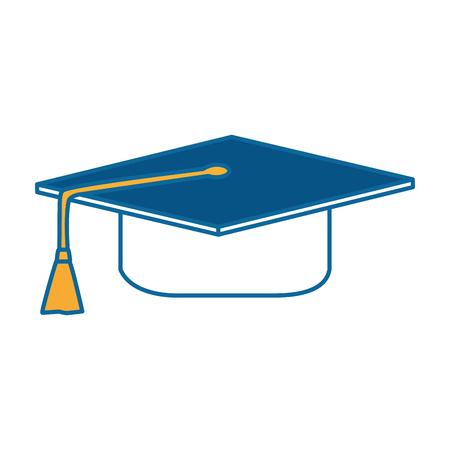 graduation hat isolated icon vector illustration design 写真素材 - 96437638