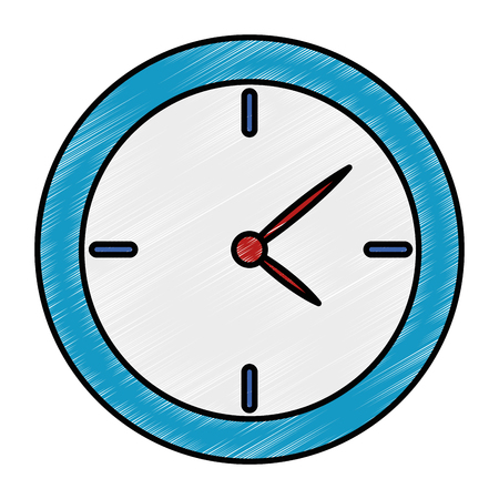 time clock isolated icon vector illustration design 版權商用圖片 - 96437679