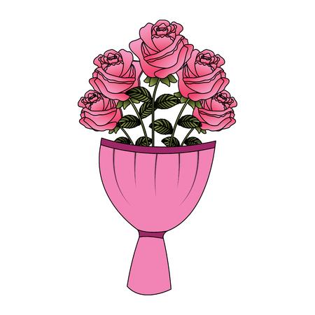 Flower decoration vector illustration Illustration