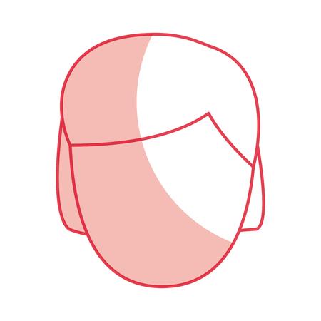 A old man avatar character vector illustration design Illustration