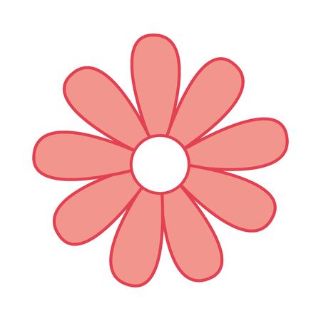 A cute sunflower garden isolated icon vector illustration design Ilustrace