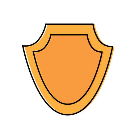 Police badge icon image vector illustration design Illustration