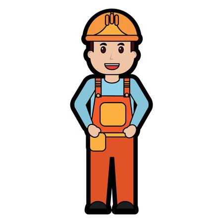 engineer or contractor icon image vector illustration design Ilustração