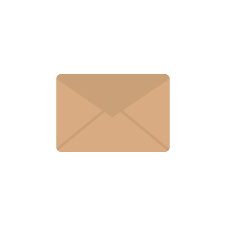 Message envelope icon image vector illustration design