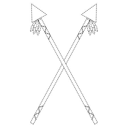 Crossed Spears Weapon