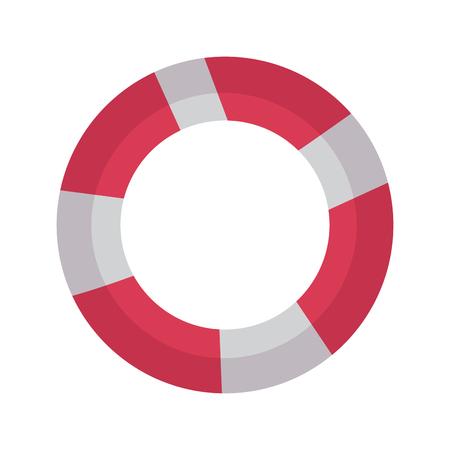 생명 구명 아이콘 이미지 벡터 일러스트 디자인