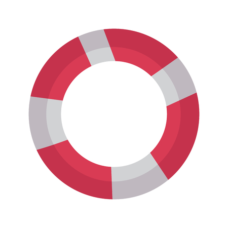 life preserver icon image vector illustration design  イラスト・ベクター素材