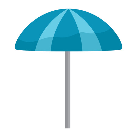 parasol umbrella beach icon image vector illustration design