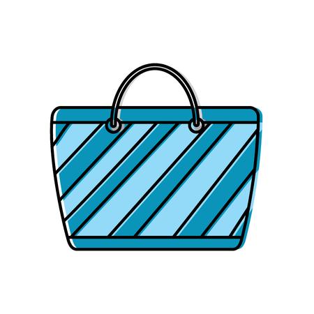 handbag or purse icon image vector illustration design Stock Illustratie
