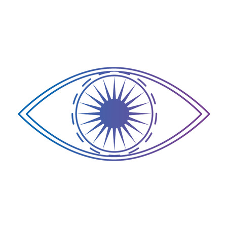 eye human view icon vector illustration design