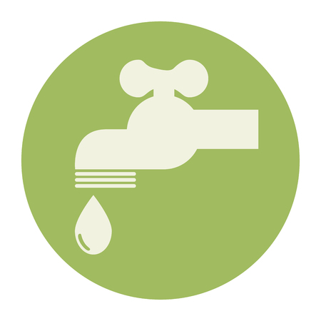 tap water ecology icon vector illustration design Ilustrace