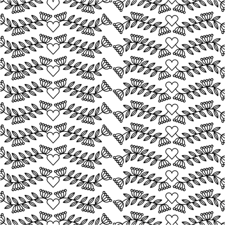 delicate hand drawn banner background vector illustration design