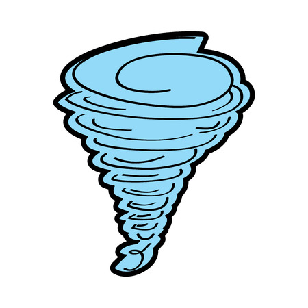 tornado season wind storm weather image vector illustration 向量圖像