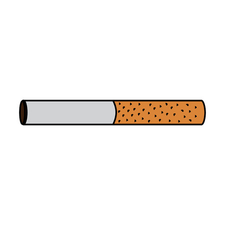 unhealthy bar tobacco cigarette addiction vector illustration