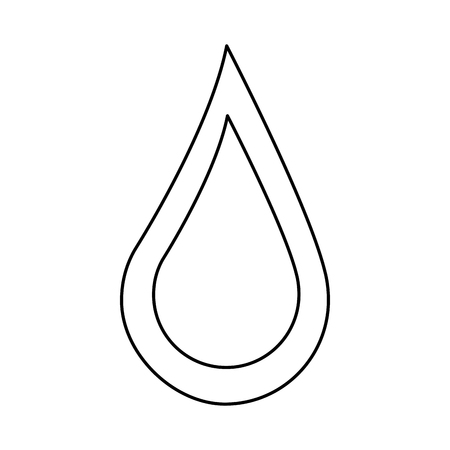 blood drop campaign symbol image vector illustration