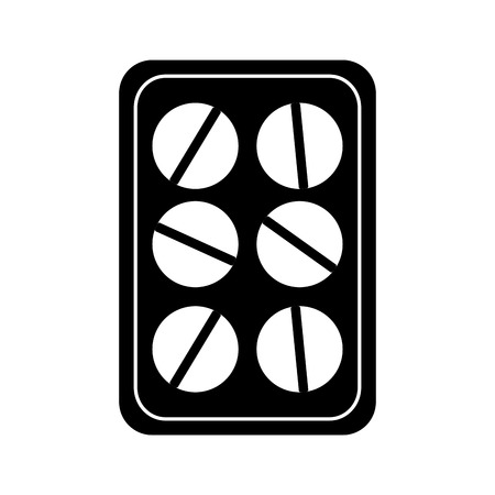 약국 의학 알약 패키지 건강 벡터 일러스트 레이션 스톡 콘텐츠 - 97365478