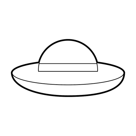 UFO flying isolated icon vector illustration design