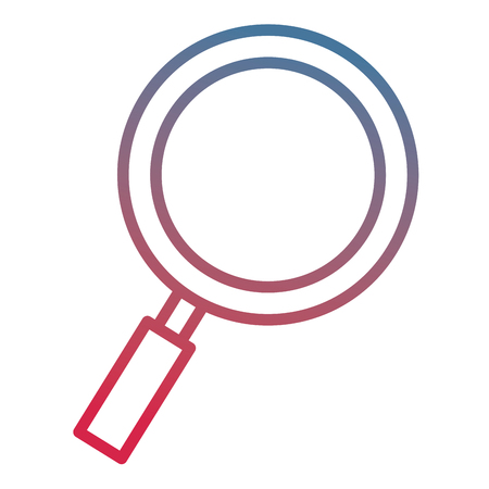 search magnifying glass icon vector illustration design Stock Vector - 96727569