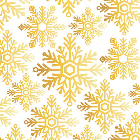 snowflake christmas decoration pattern background vector illustration design