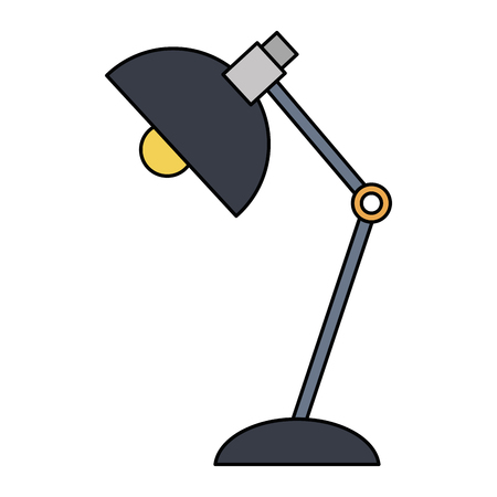 office lamp isolated icon vector illustration design Иллюстрация