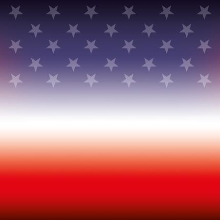flag of united states blurred texture design vector illustration Illustration