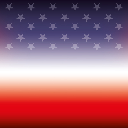 flag of united states blurred texture design vector illustration Ilustração