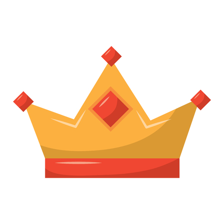 king crown royal authority classic vector illustration