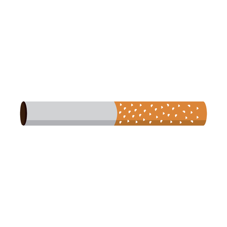 unhealthy bar tobacco cigarette addiction vector illustration Reklamní fotografie - 96832047