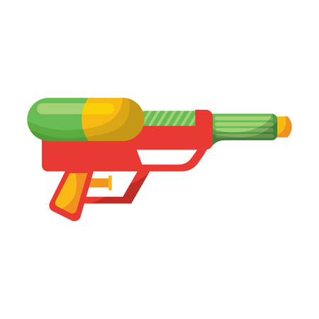 water gun toy vector illustration Illustration
