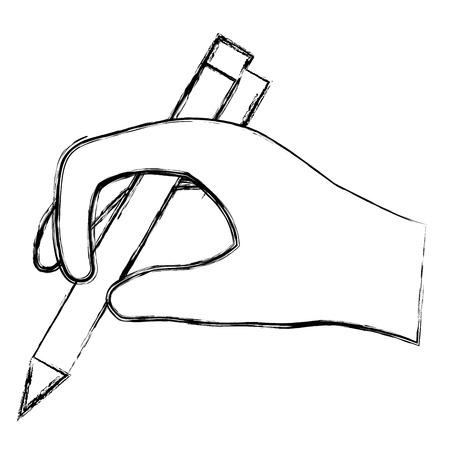 pen writer isolated icon vector illustration design  イラスト・ベクター素材