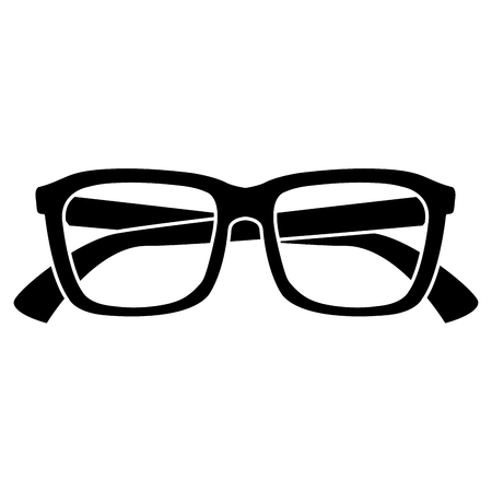 Eye glasses isolated icon vector illustration design Illusztráció