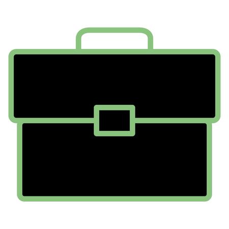 Portfolio briefcase design illustration