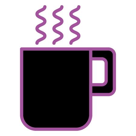 コーヒーカップイメージイラスト