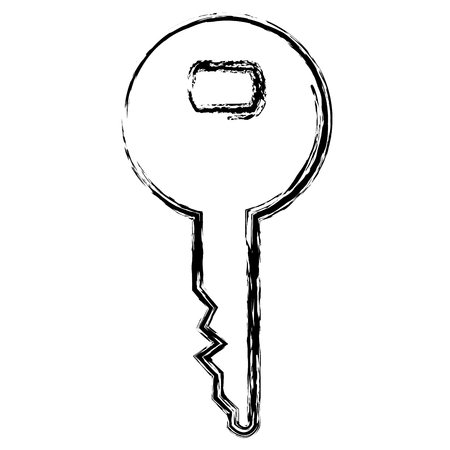 Key isolated icon vector illustration design