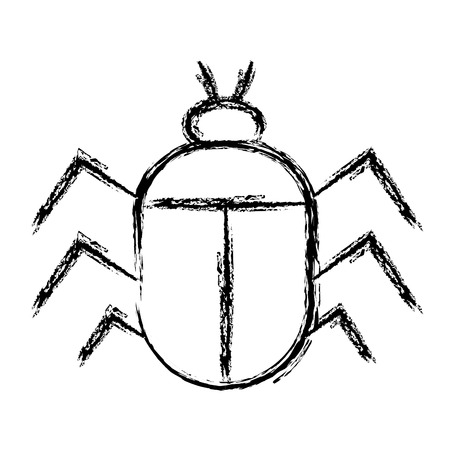 bug insect isolated icon vector illustration design