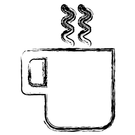 coffee cup isolated icon vector illustration design  イラスト・ベクター素材