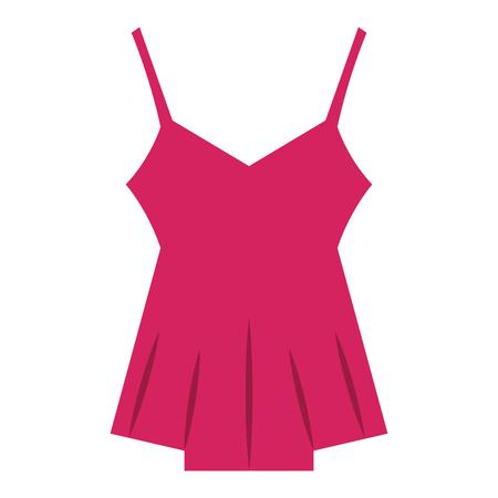 Sexy blouse for women vector illustration design