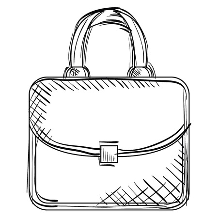 elegant handbag female icon vector illustration design Фото со стока - 97142089