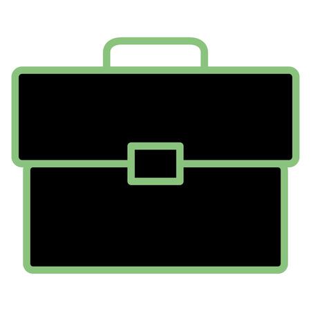 portfolio briefcase isolated icon vector illustration design Stock Illustratie