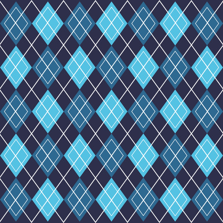 background blue rhombus fashion vintage decoration pattern vector illustration