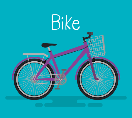Bicycle icon vector illustration design