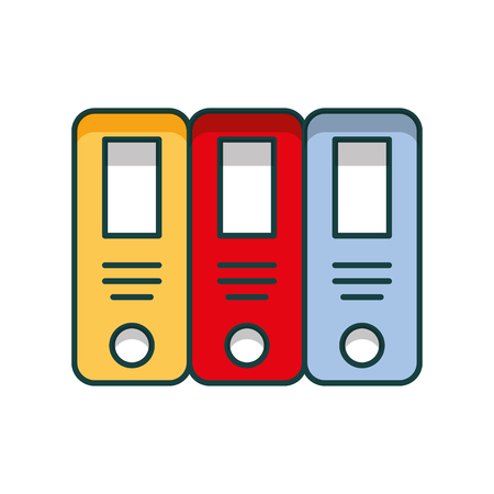 office files isolated icon vector illustration design 写真素材 - 97254587