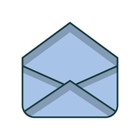 envelope mail isolated icon vector illustration design Archivio Fotografico - 97255550